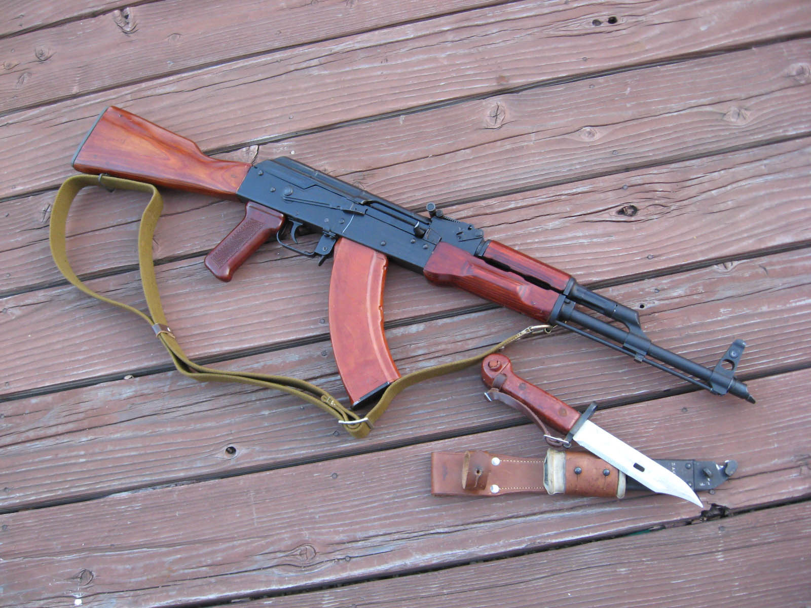 Rifles Guns weapons AKM HD Wallpaper