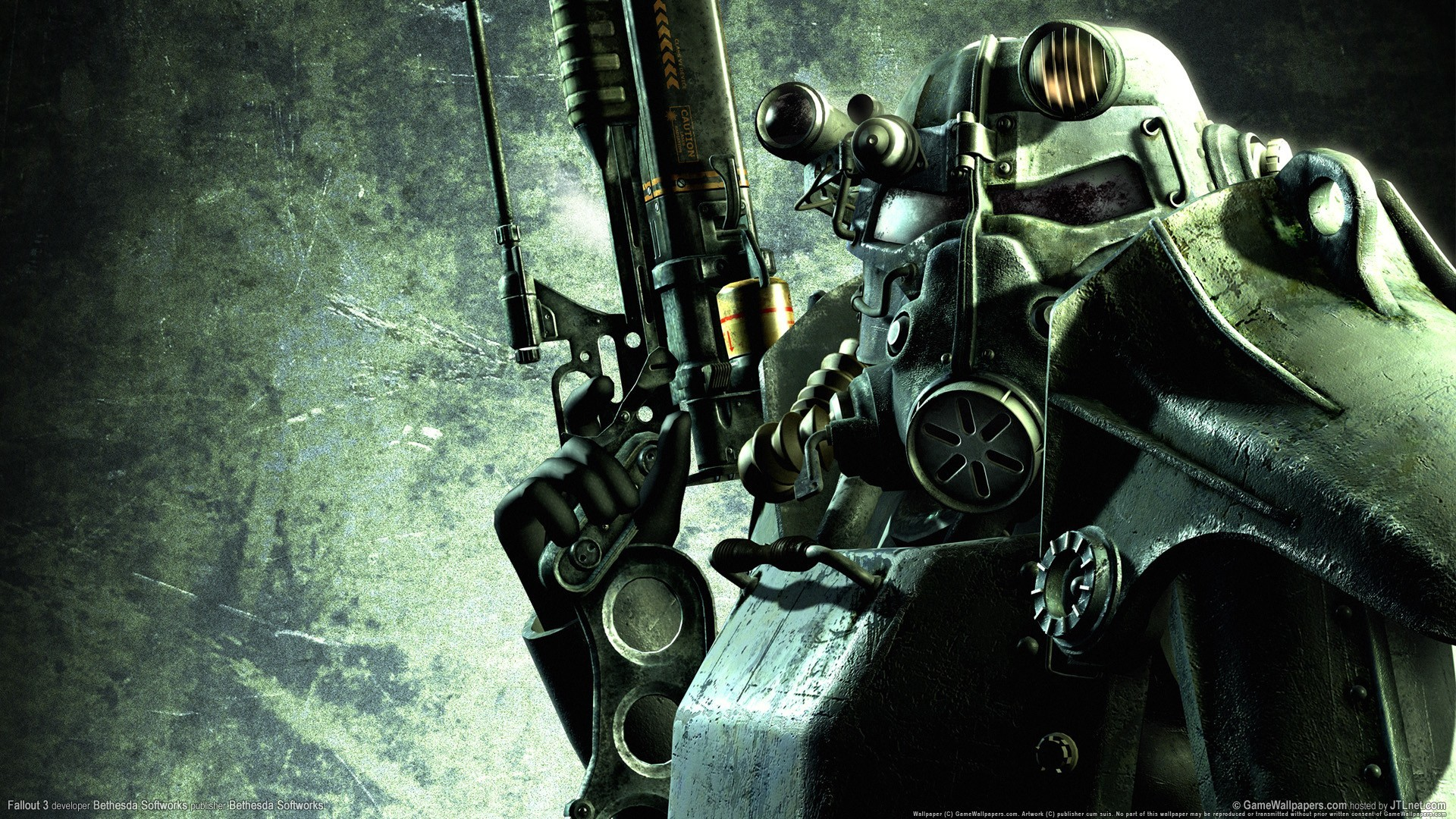 Rifles video games fallout HD Wallpaper