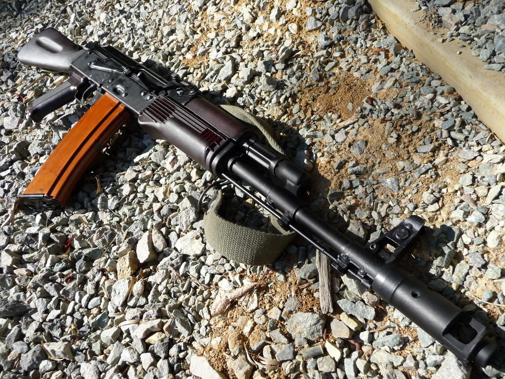 Rifles weapons ak-74 5 HD Wallpaper