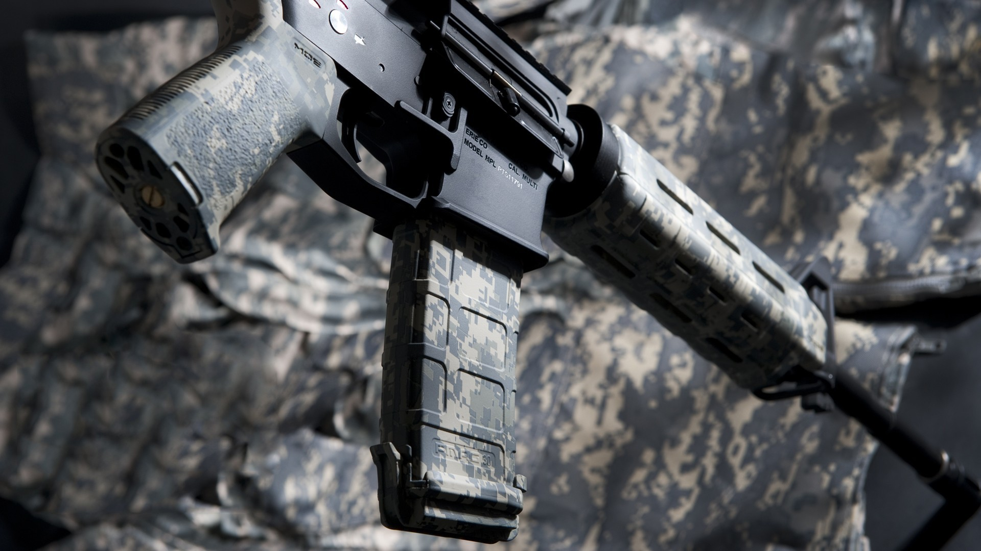 Rifles weapons camouflage airsoft HD Wallpaper