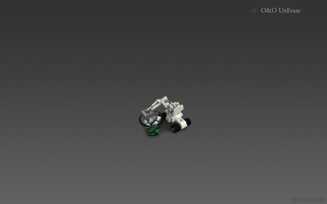 robot bin trash HD Wallpaper
