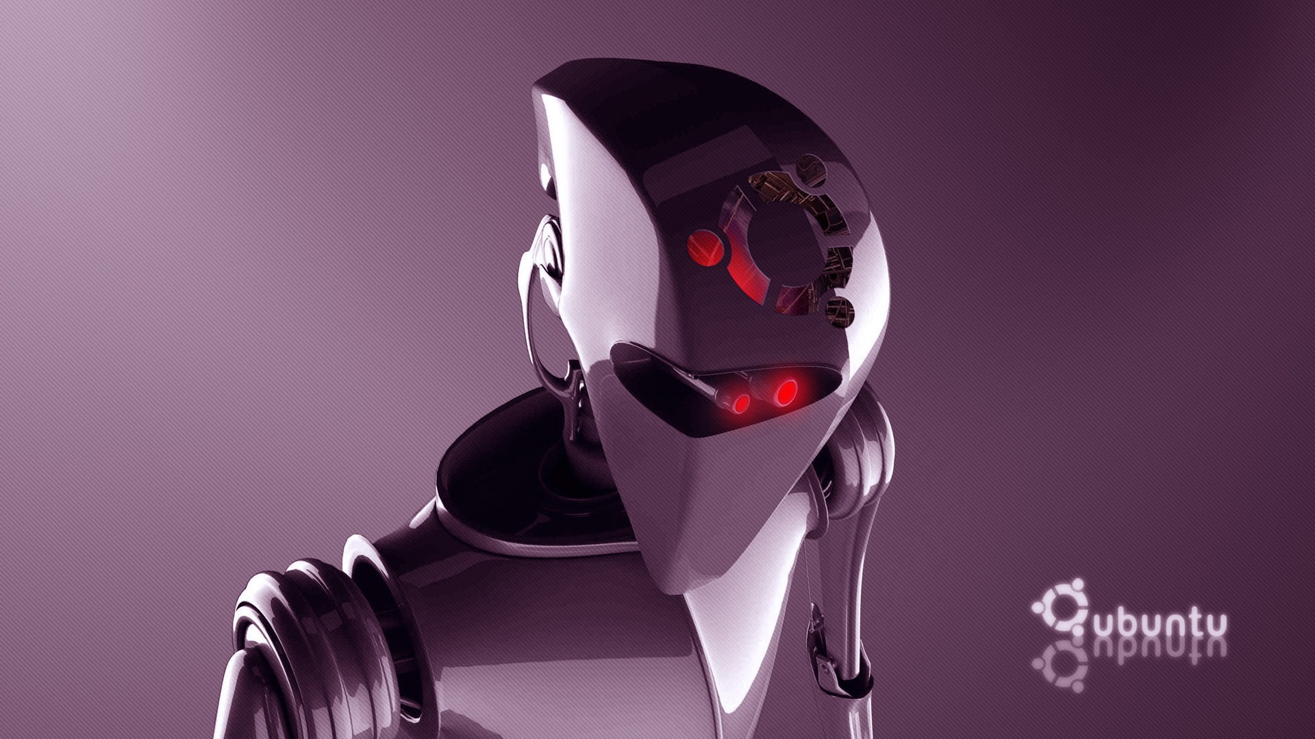 robot ubuntu window Technology HD Wallpaper