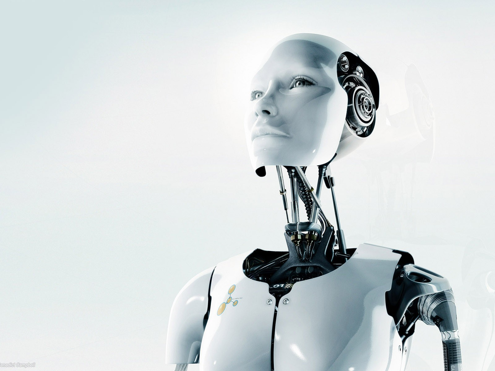 Robots android gynoid HD Wallpaper
