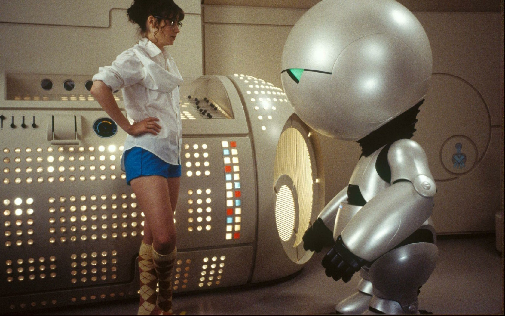 Robots zooey deschanel The HD Wallpaper