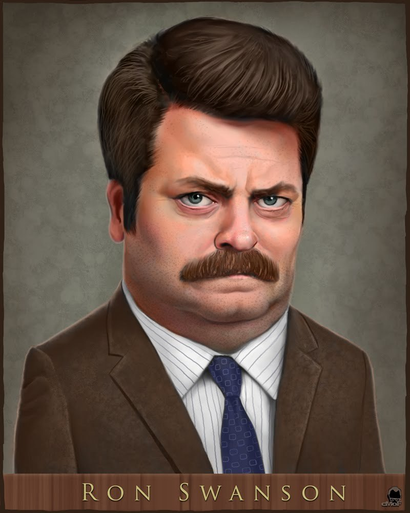 Ron Swanson Parks and HD Wallpaper