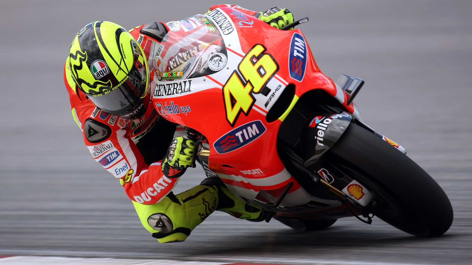 rossi Ducati vehicles moto HD Wallpaper