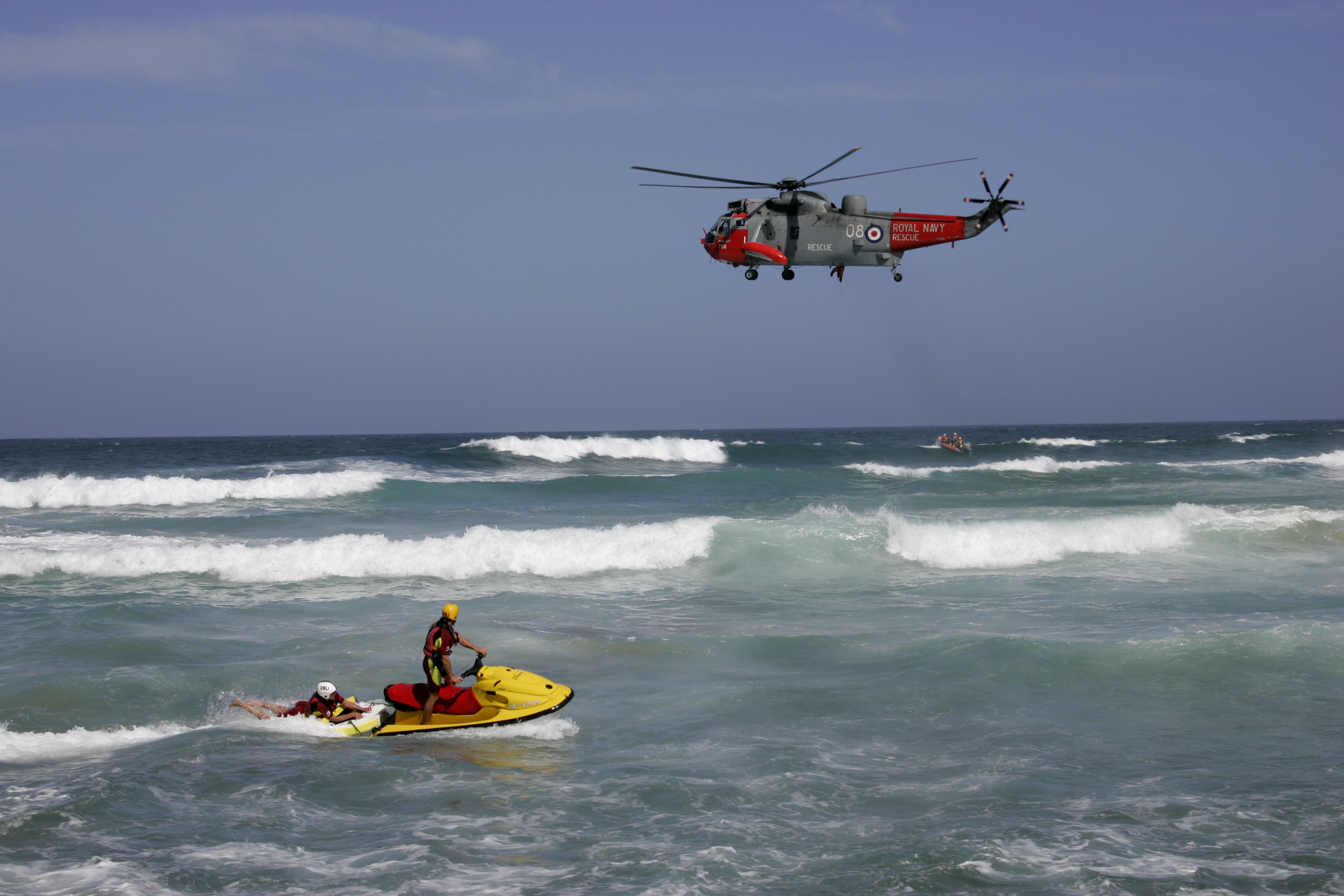 royal Navy Rescue high HD Wallpaper