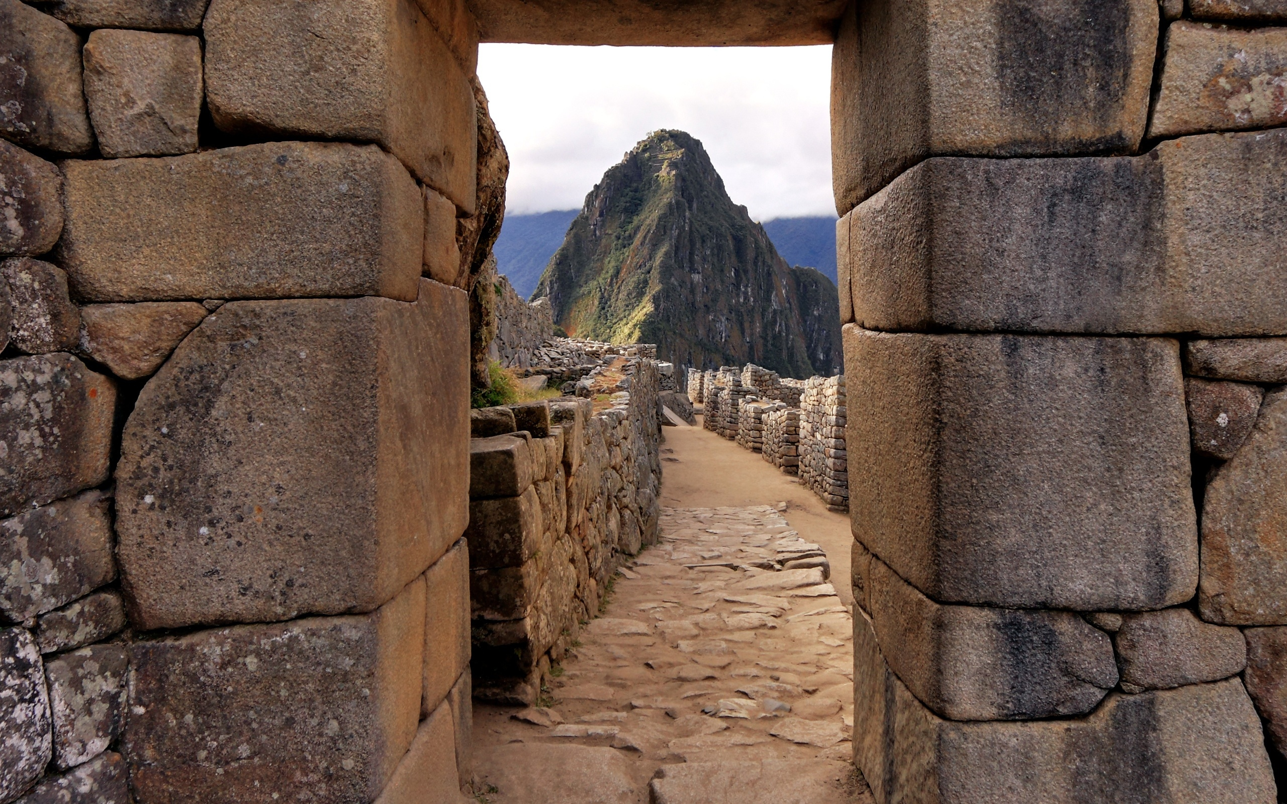 ruins architecture hills Machu HD Wallpaper