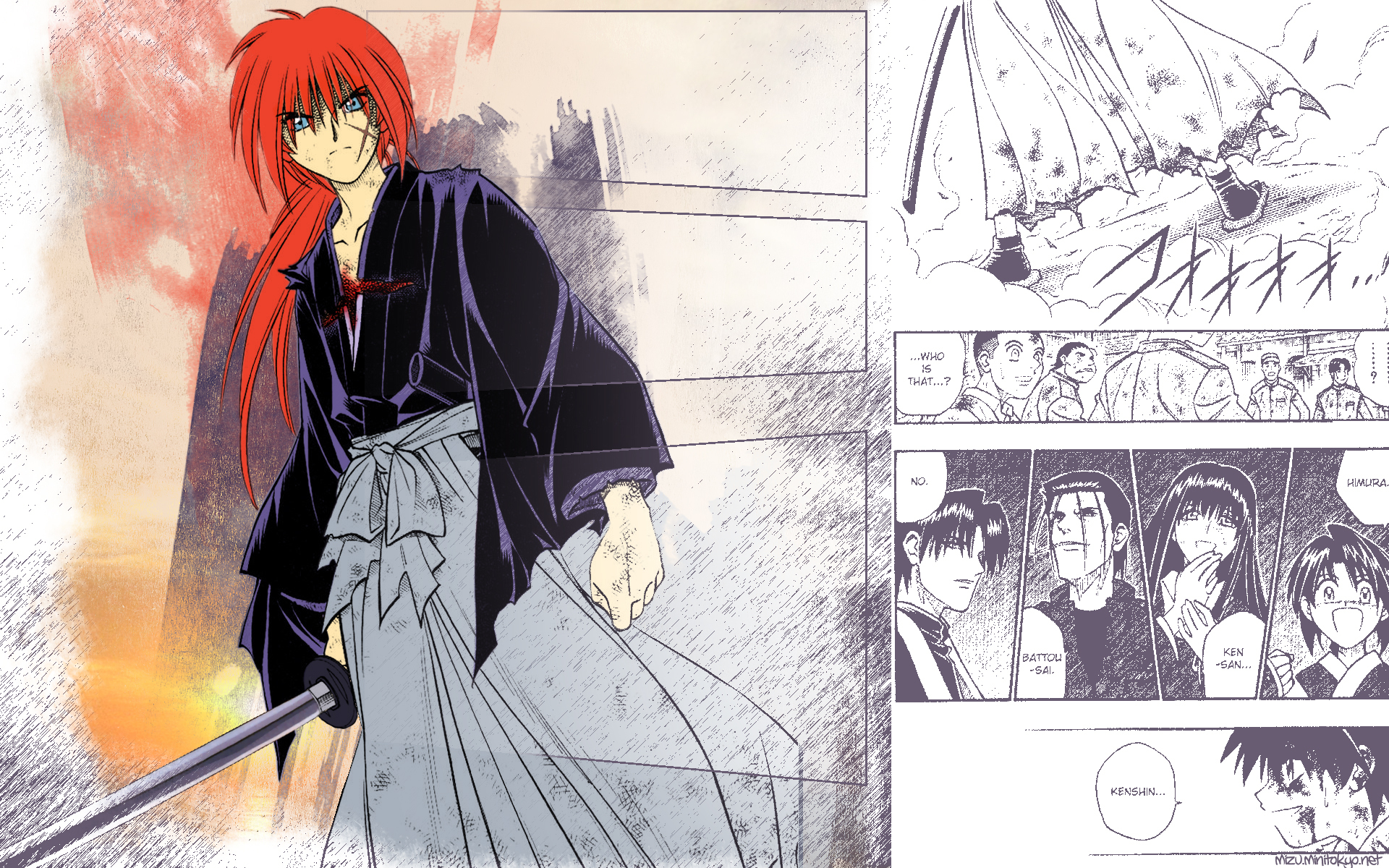 rurouni kenshin HD Wallpaper
