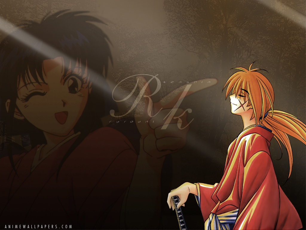 rurouni Kenshin samurai Anime HD Wallpaper