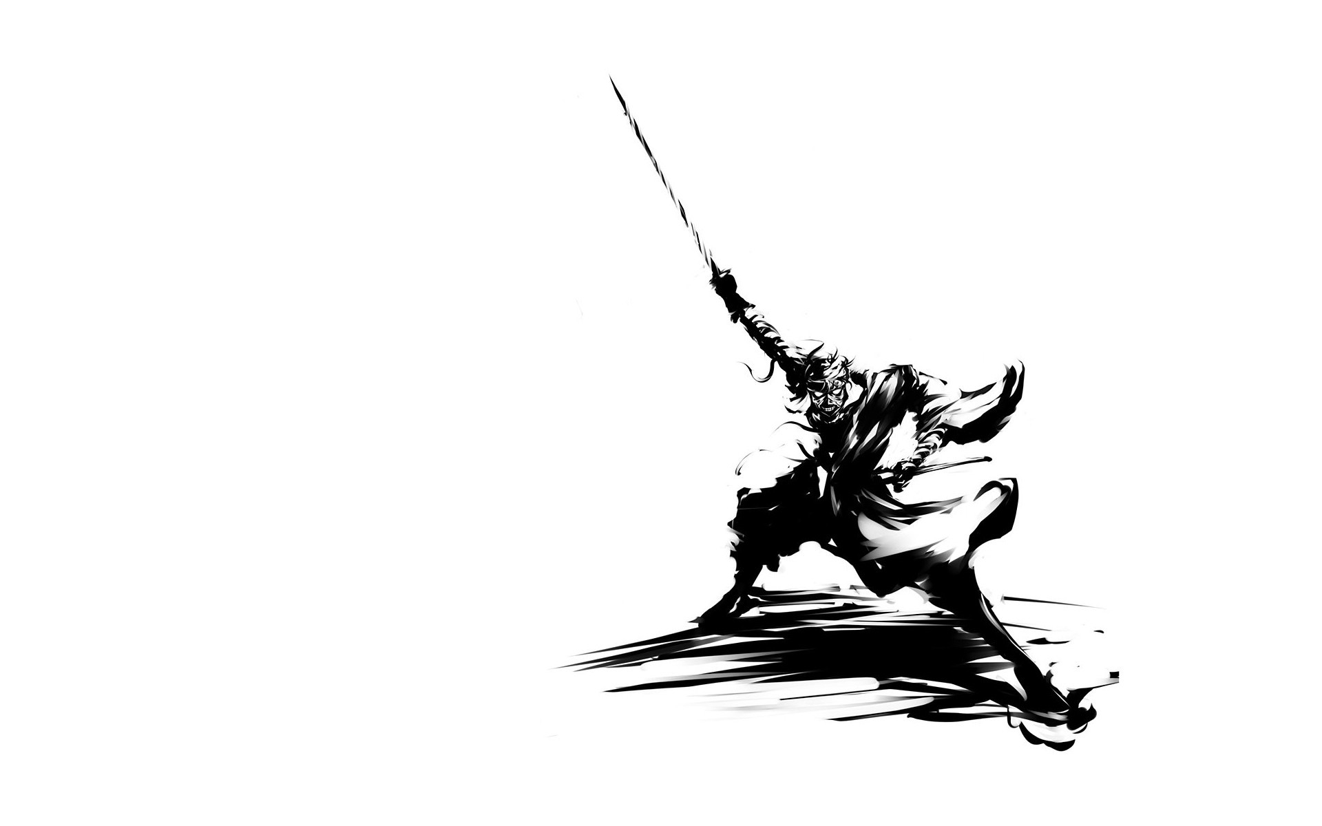 rurouni kenshin samurai artwork HD Wallpaper
