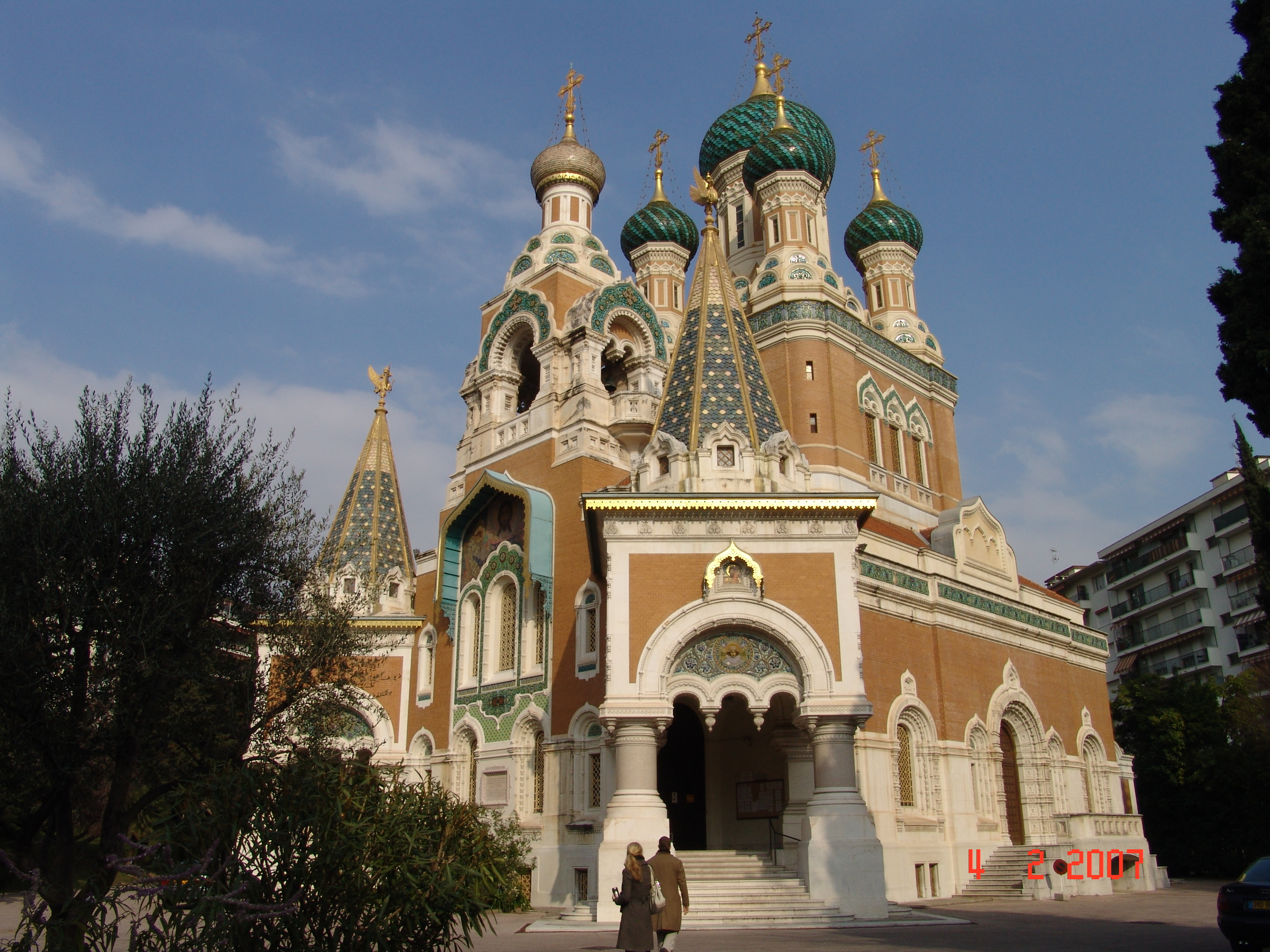 Russian Church nice France HD Wallpaper