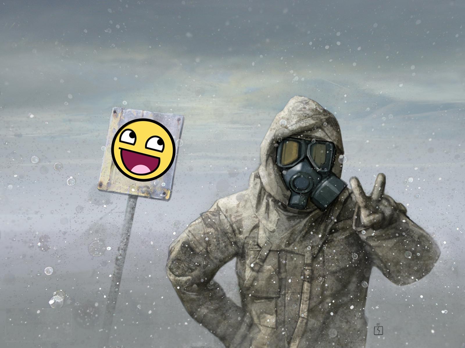 S.T.A.L.K.E.R. Awesome Face HD Wallpaper