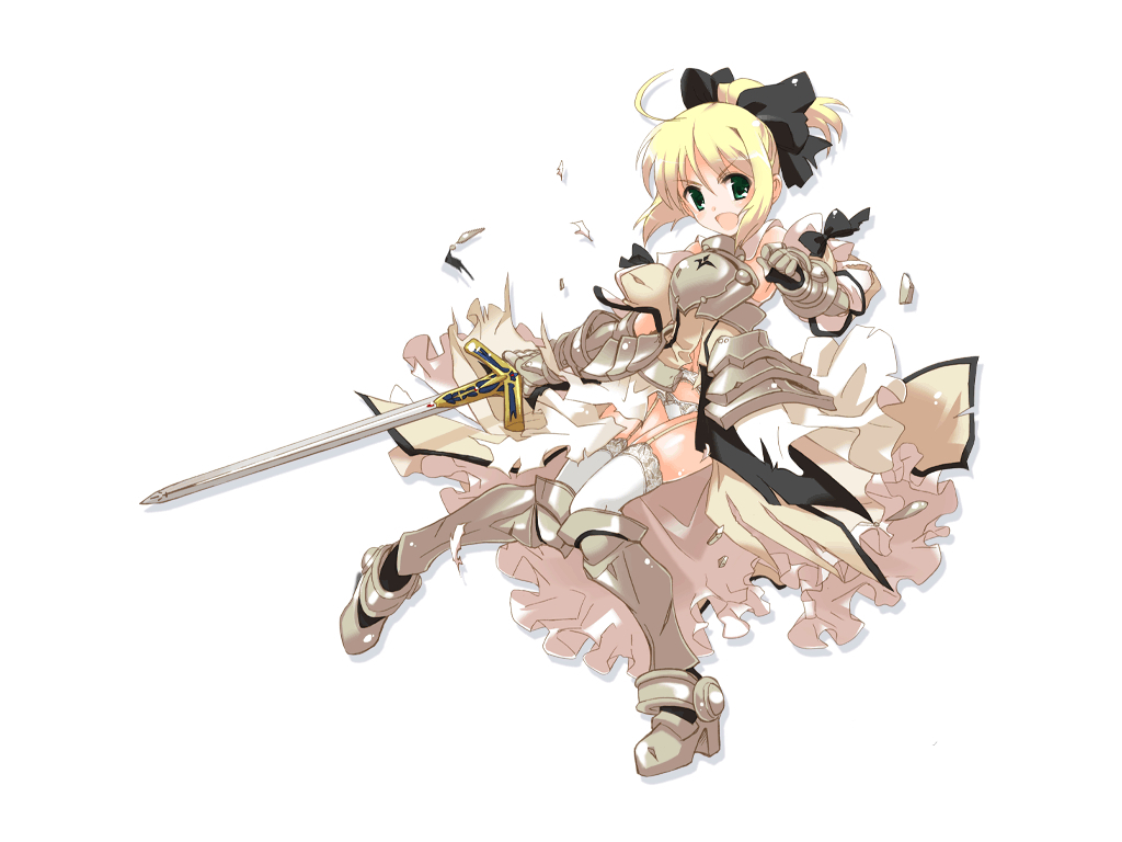 saber lily detached Anime HD Wallpaper