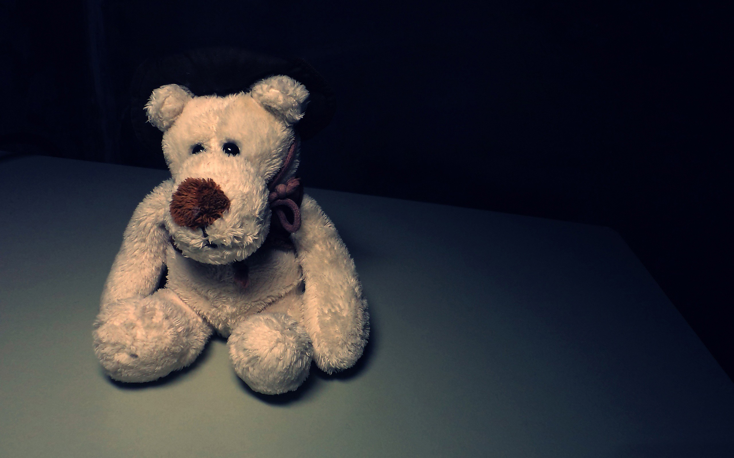 sad stuffed animals teddy HD Wallpaper