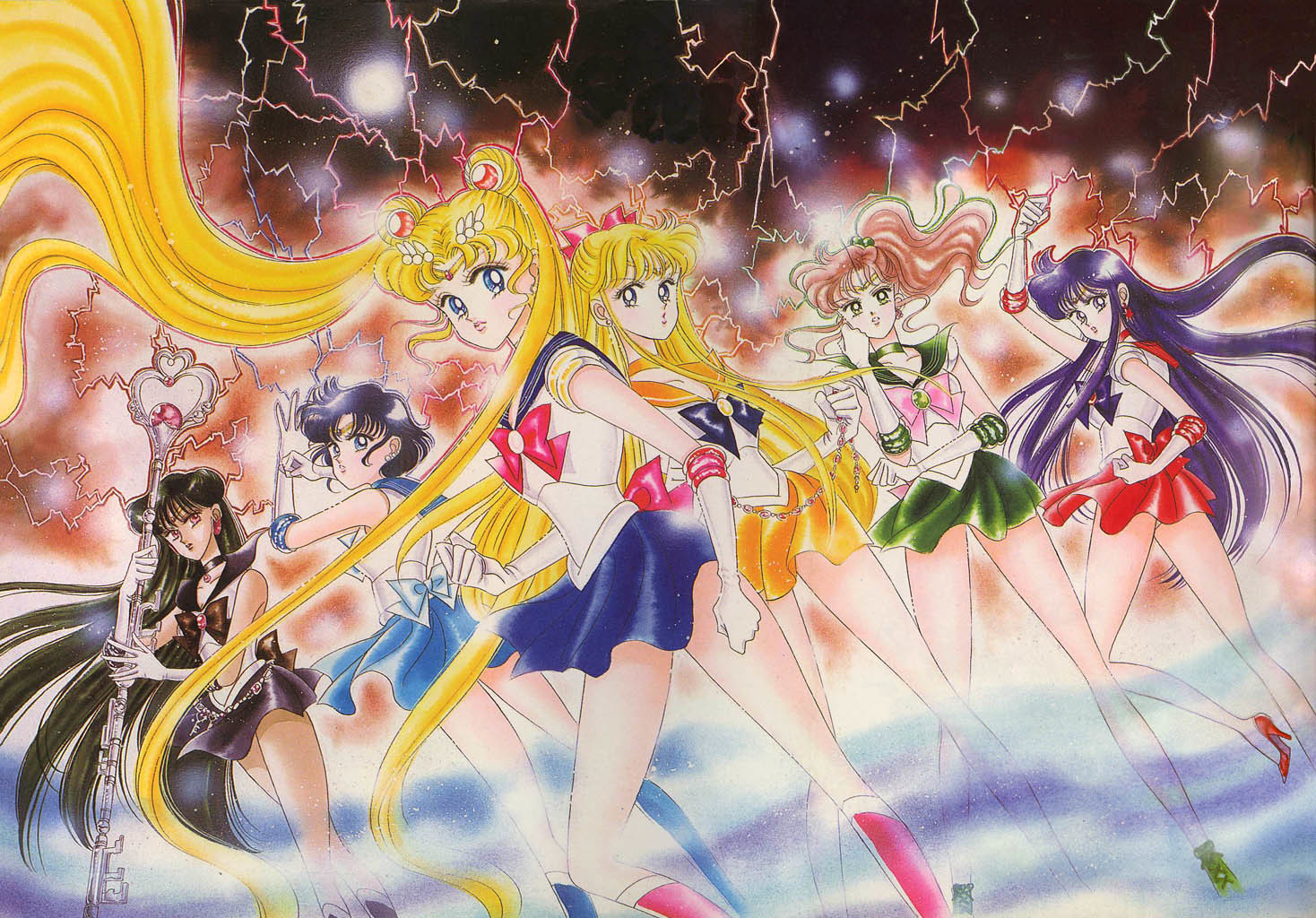 sailor moon Anime HD Wallpaper
