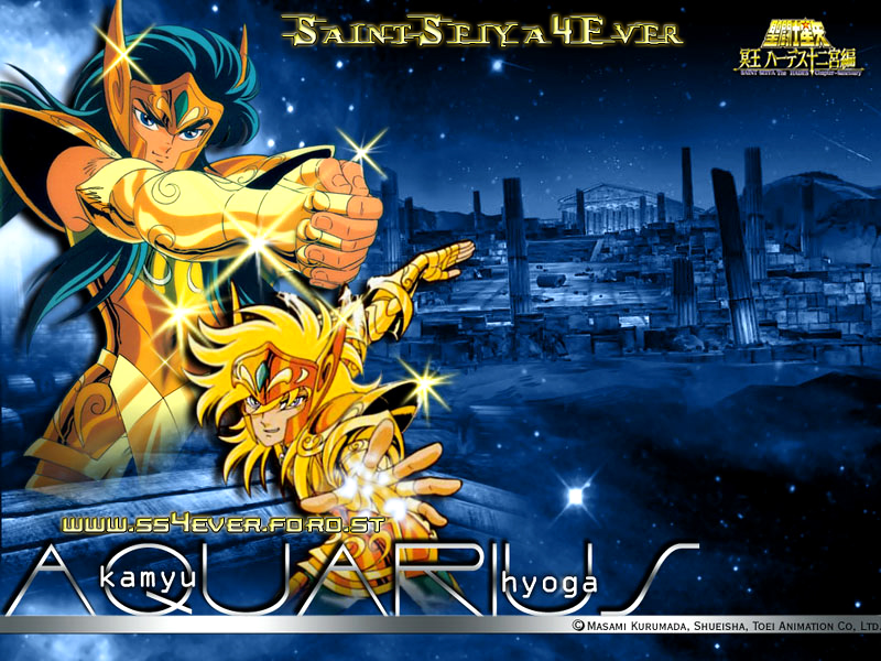 Saint Seiya aquarius Hyoga HD Wallpaper