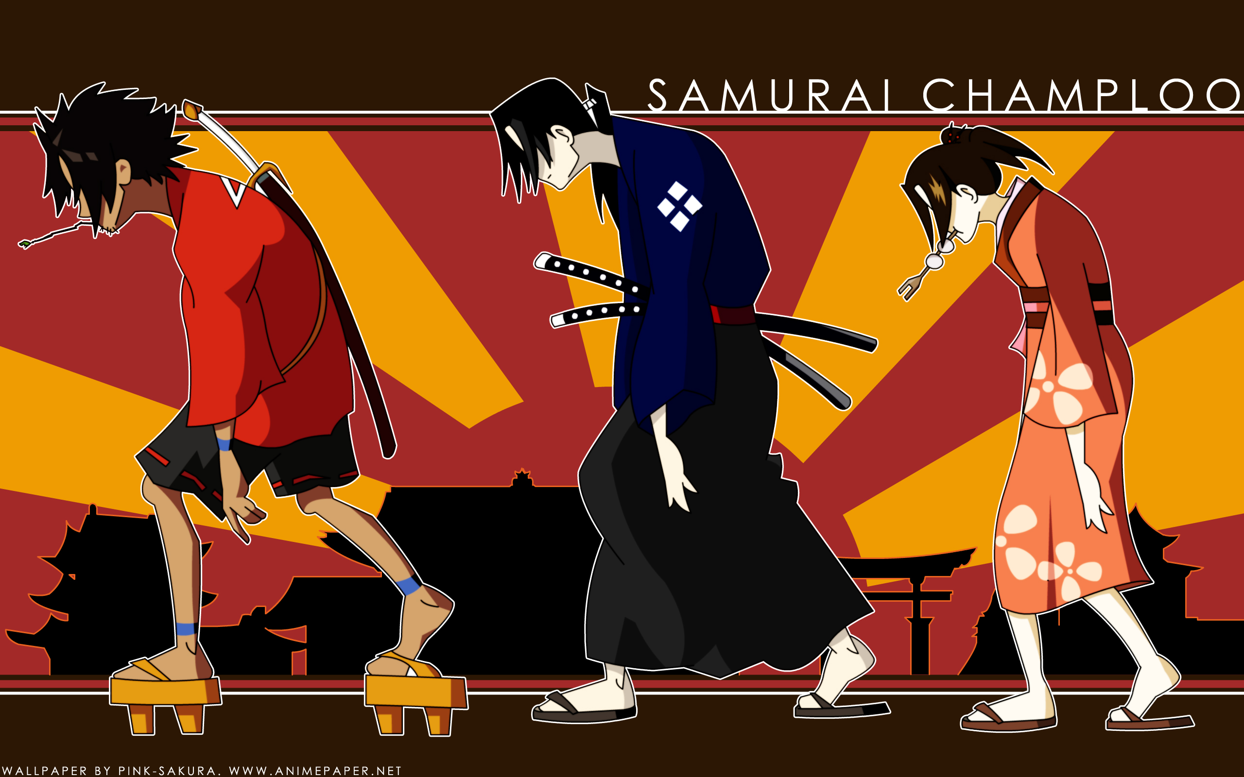 samurai champloo Jin mugen HD Wallpaper