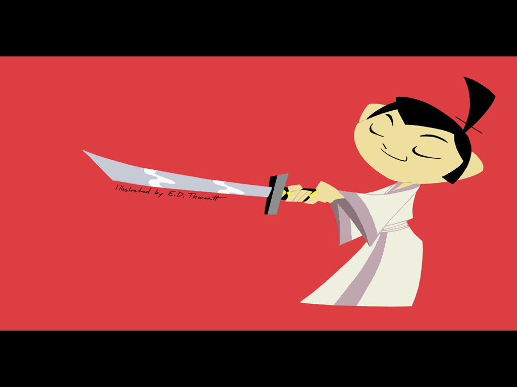 samurai Jack HD Wallpaper