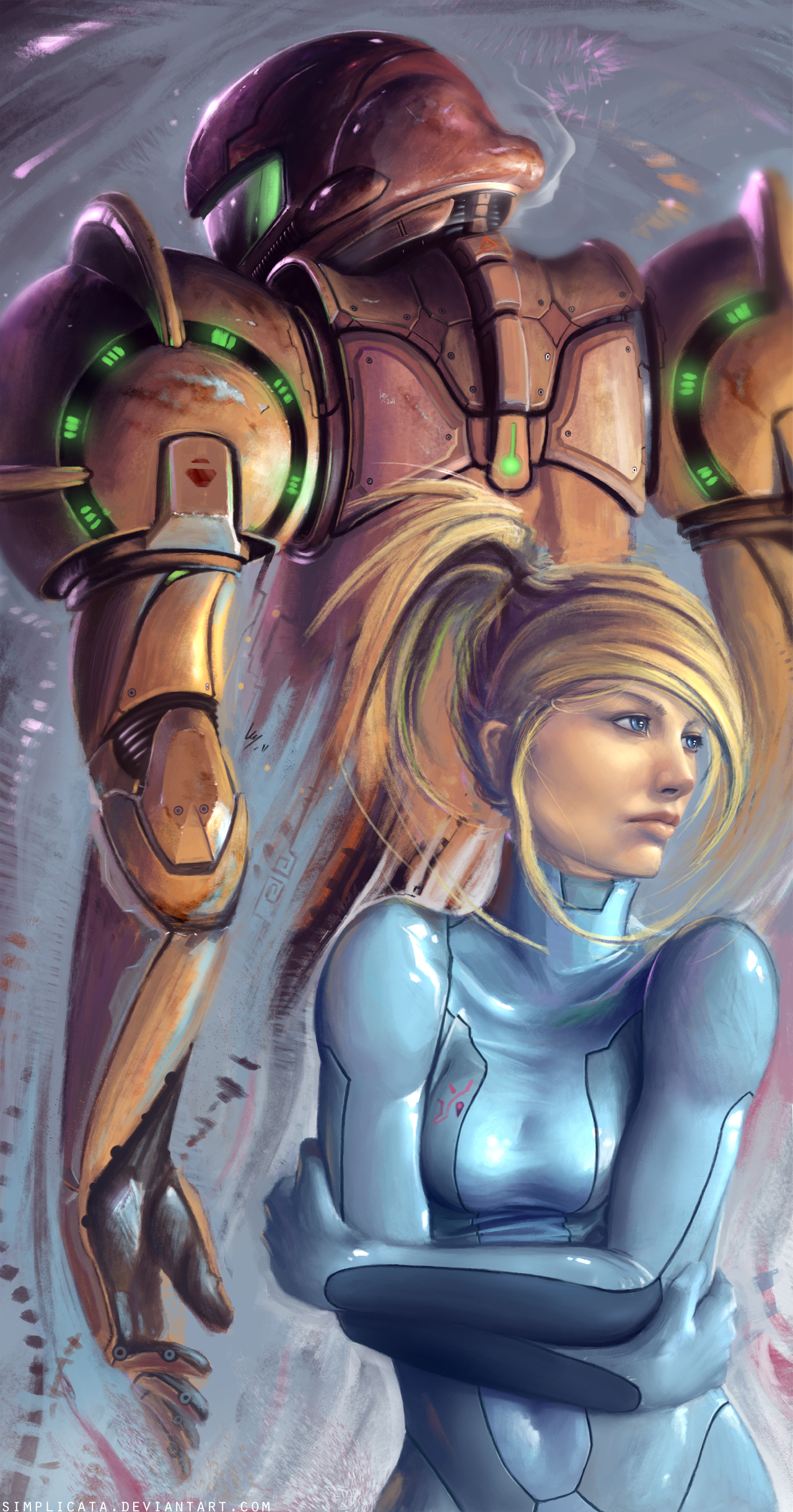 samus aran metroid prime HD Wallpaper