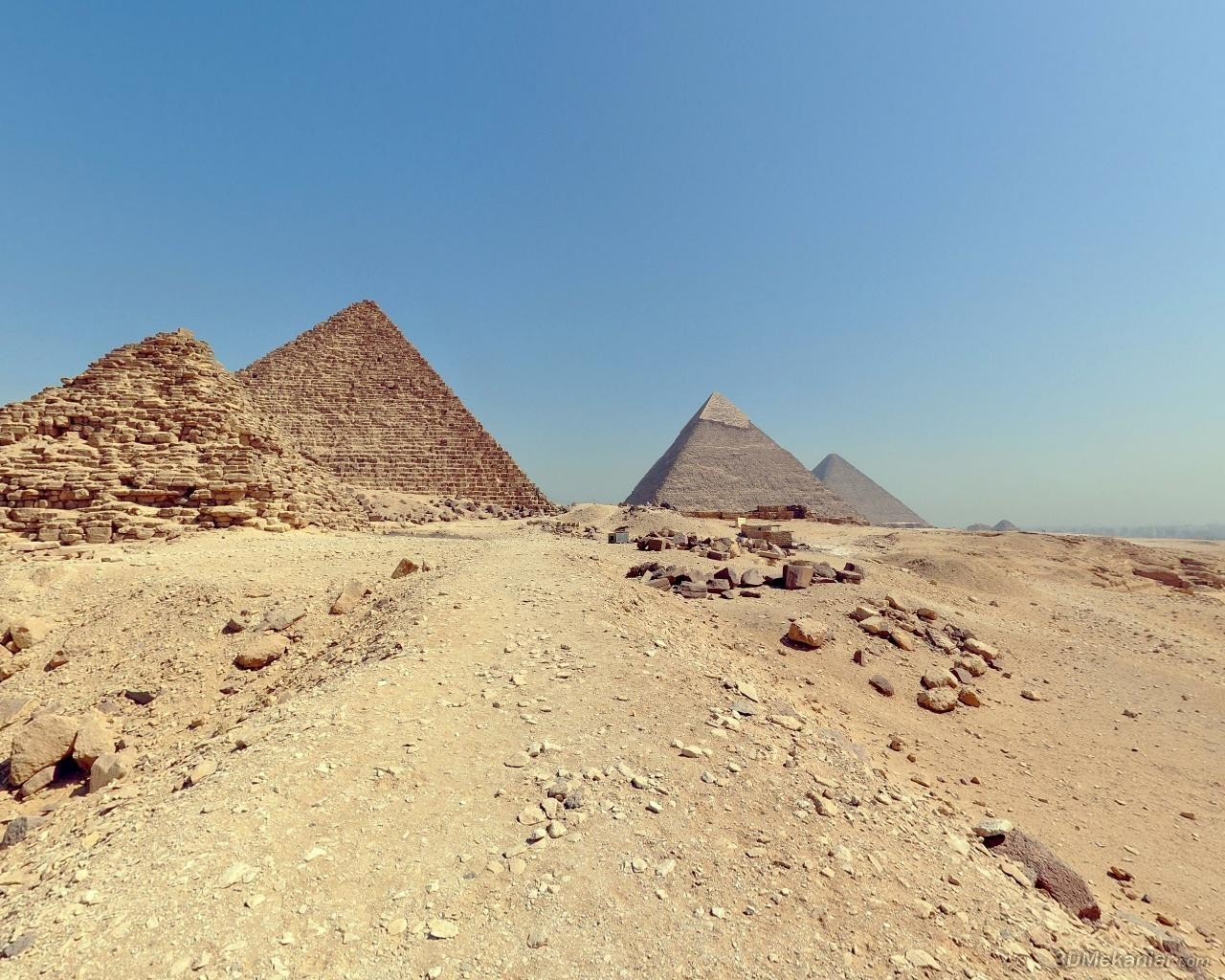 sand Egypt pyramids Great HD Wallpaper