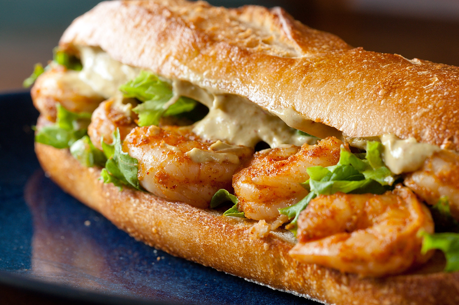 sandwiches shrimps