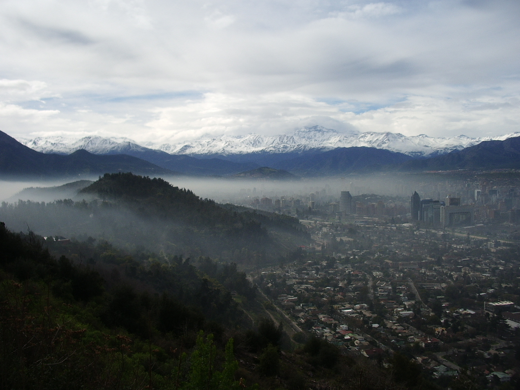 Santiago chile by layfan HD Wallpaper