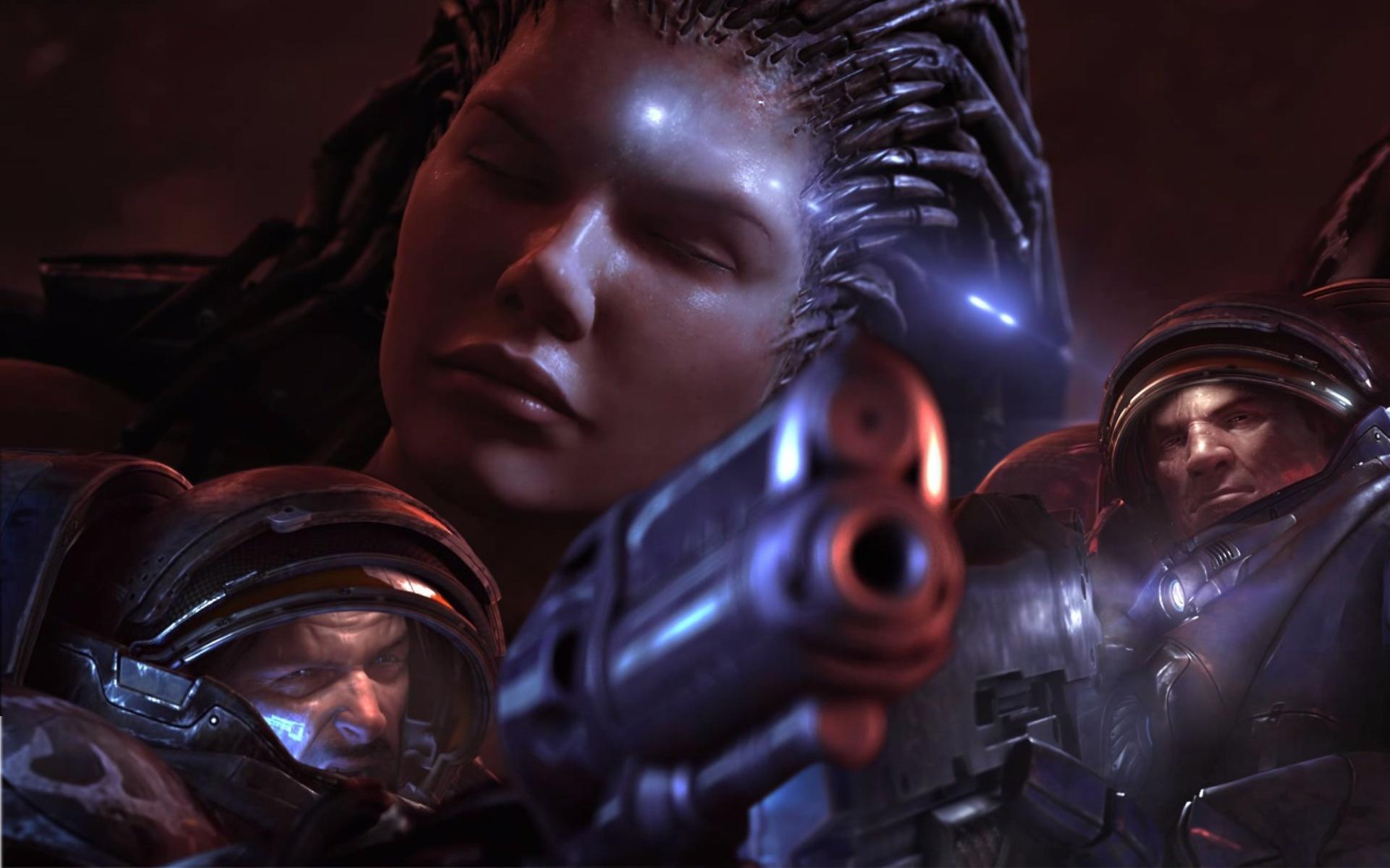 Sarah Kerrigan Queen Of Blades Starcraft Ii Hd Wallpaper Games Picture