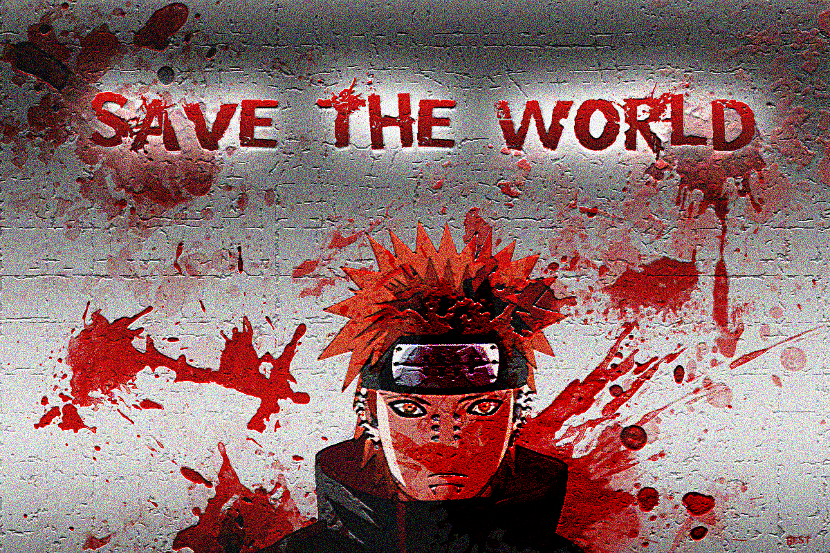 Save The World Anime HD Wallpaper