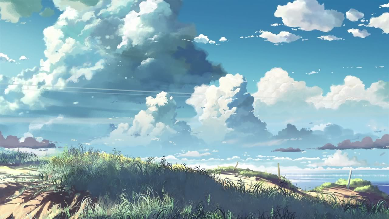 scenic centimeters per second HD Wallpaper