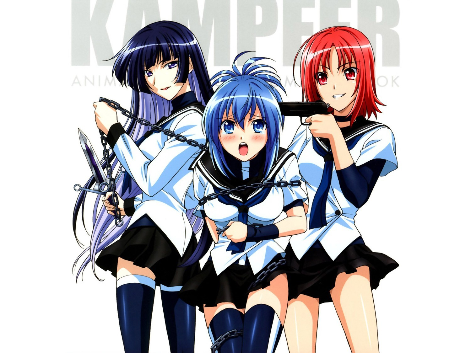 school uniforms kampfer Sangou HD Wallpaper