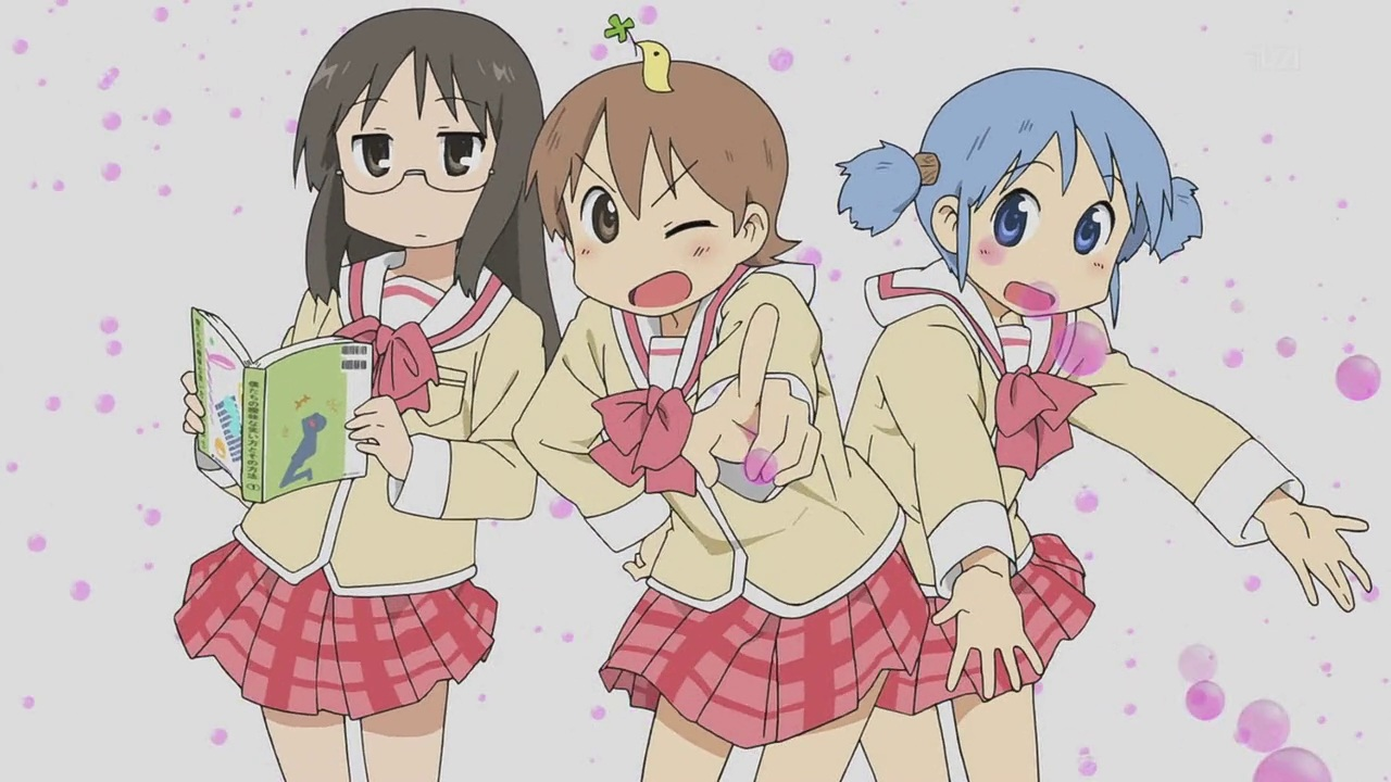 school uniforms Nichijou Aioi HD Wallpaper