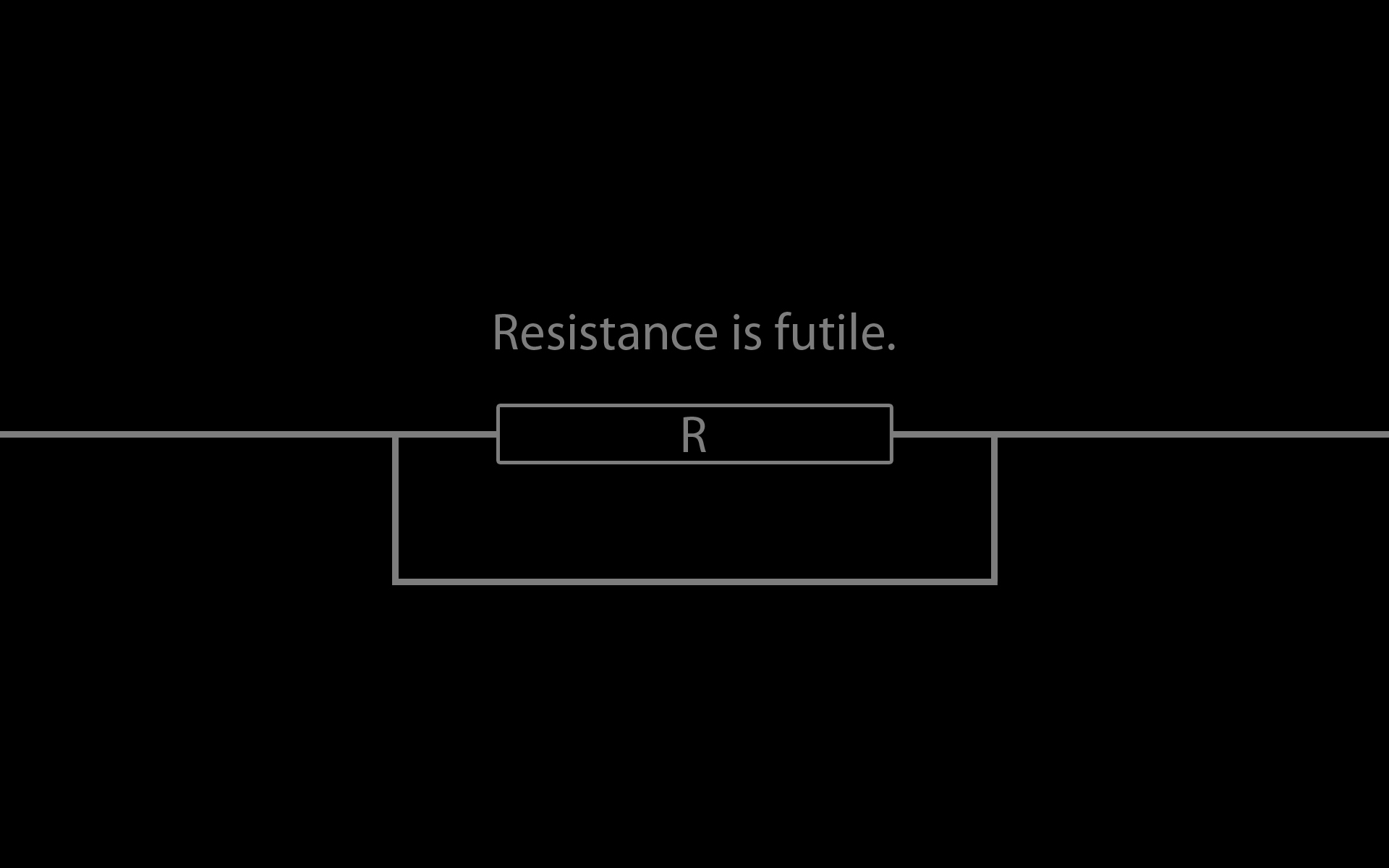 Science resistance electricity HD Wallpaper