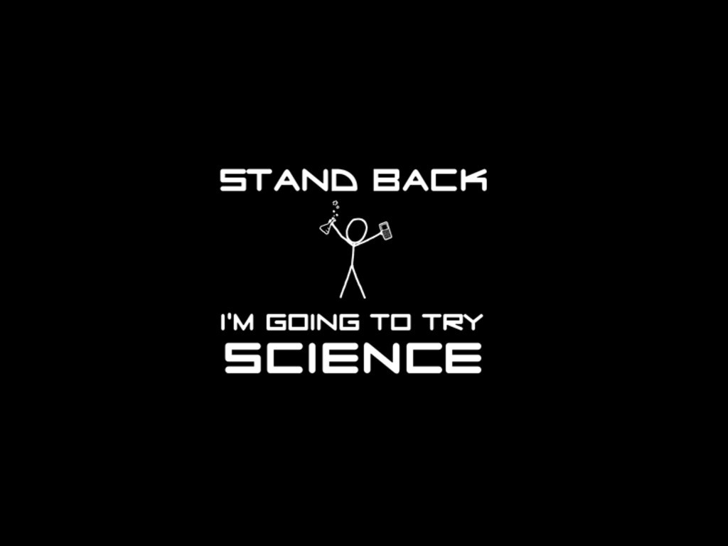 Science xkcd stick figures HD Wallpaper