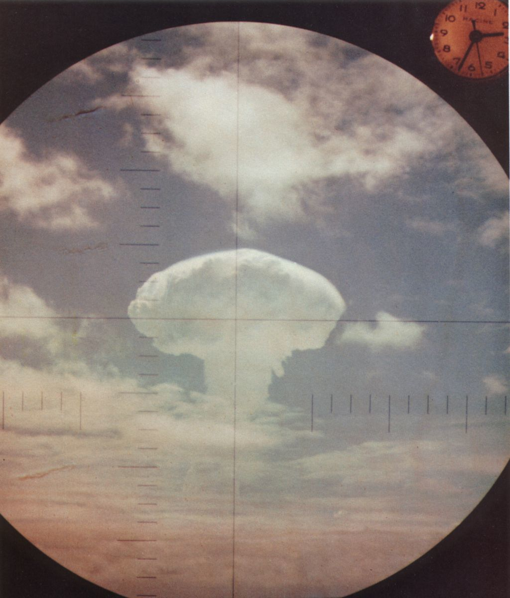 scope bombs Nuclear explosions