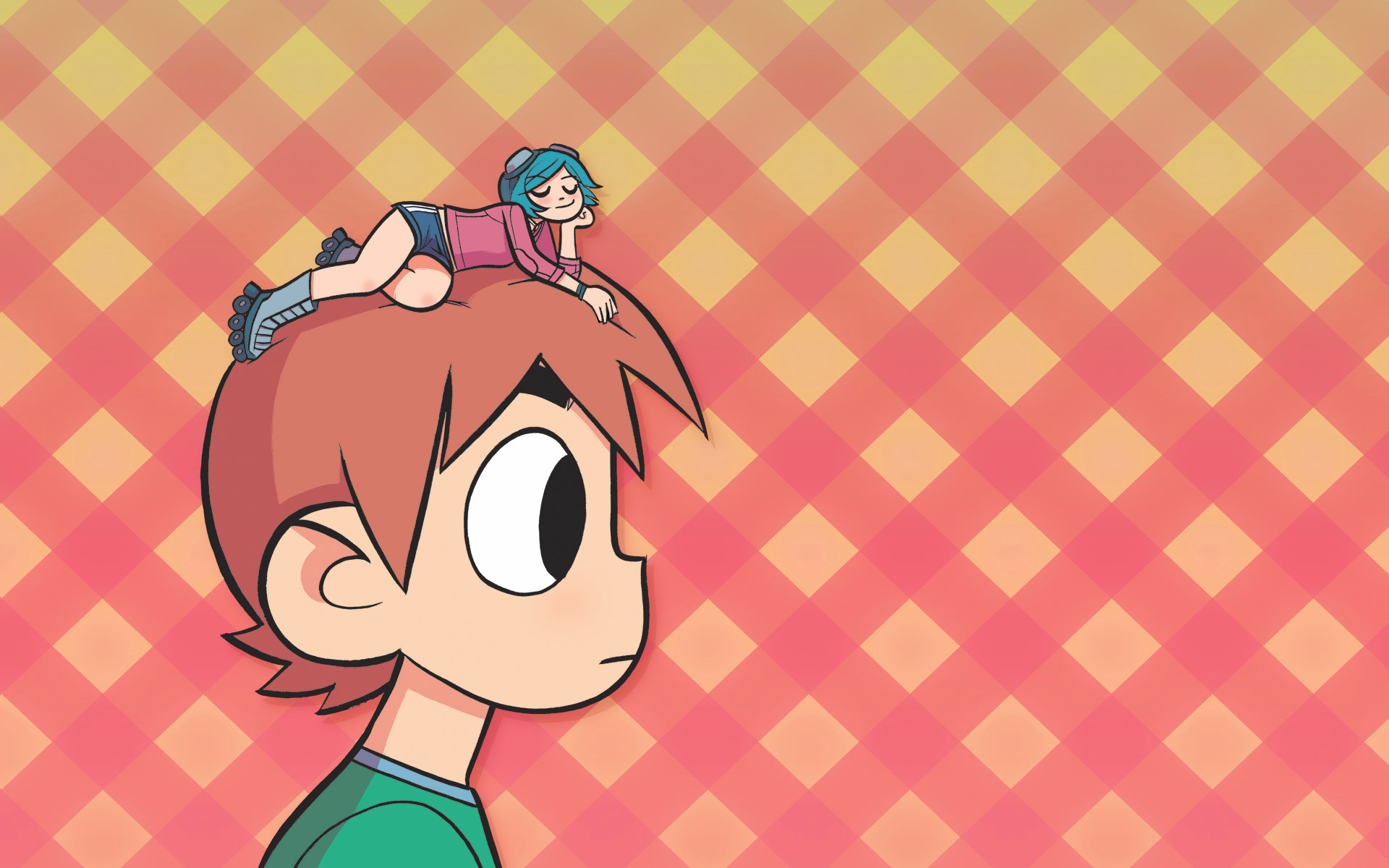 scott pilgrim Ramona Flowers HD Wallpaper