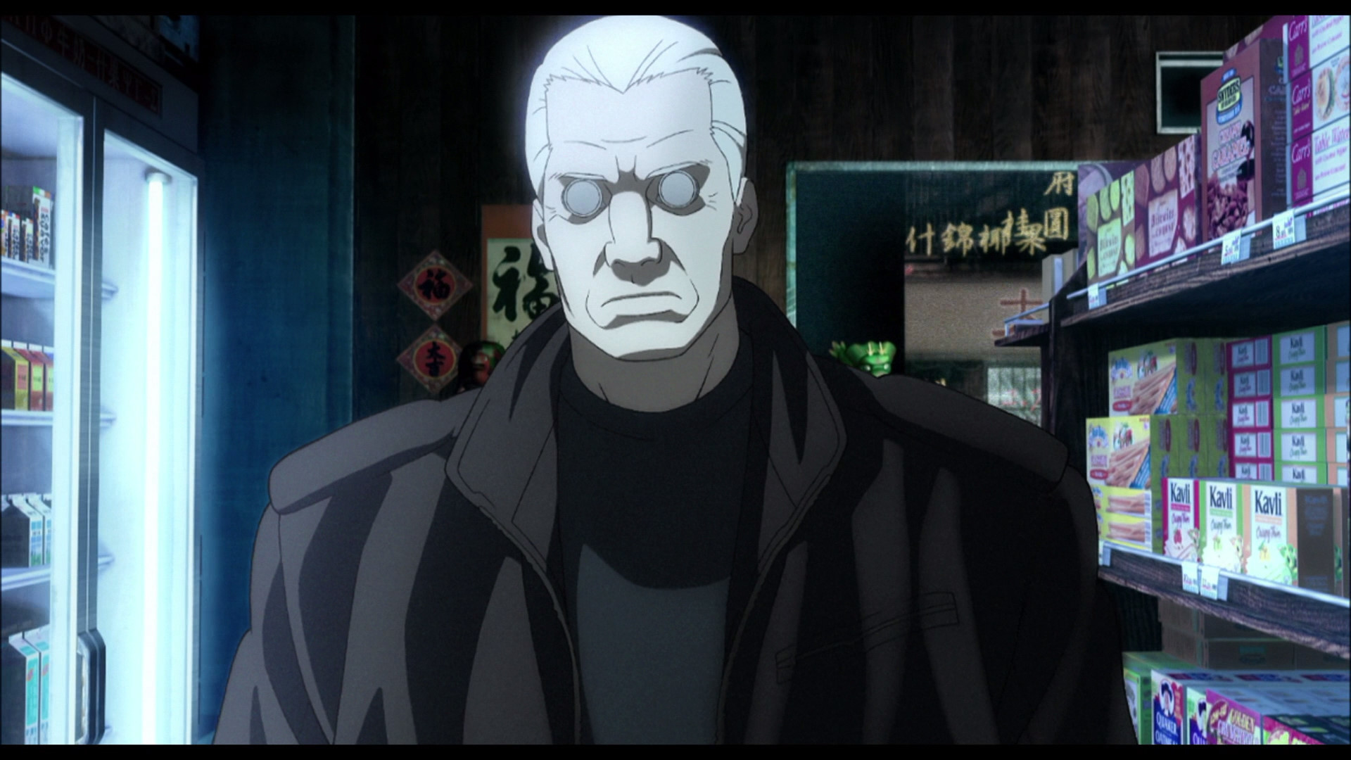 screenshots Batou Ghost in HD Wallpaper