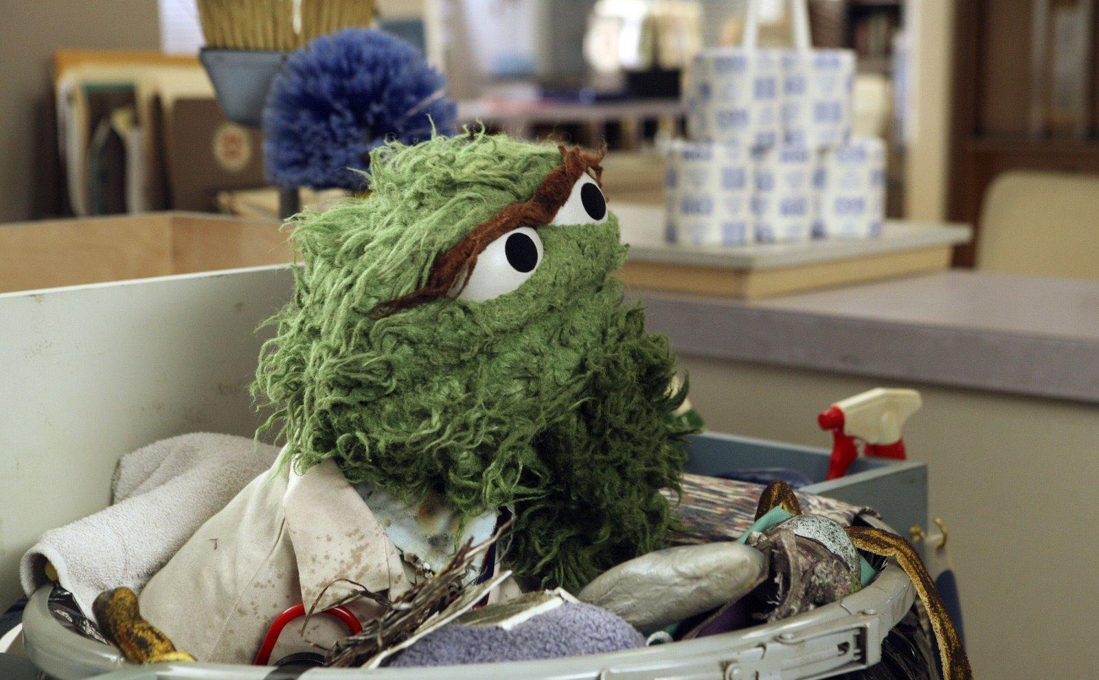 Scrubs Sesame Street Oscar