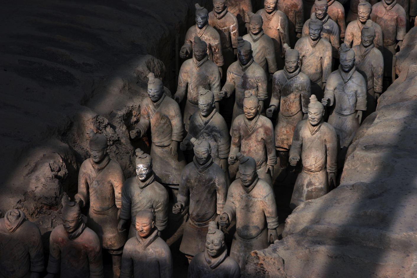 sculpture statues terracotta Army