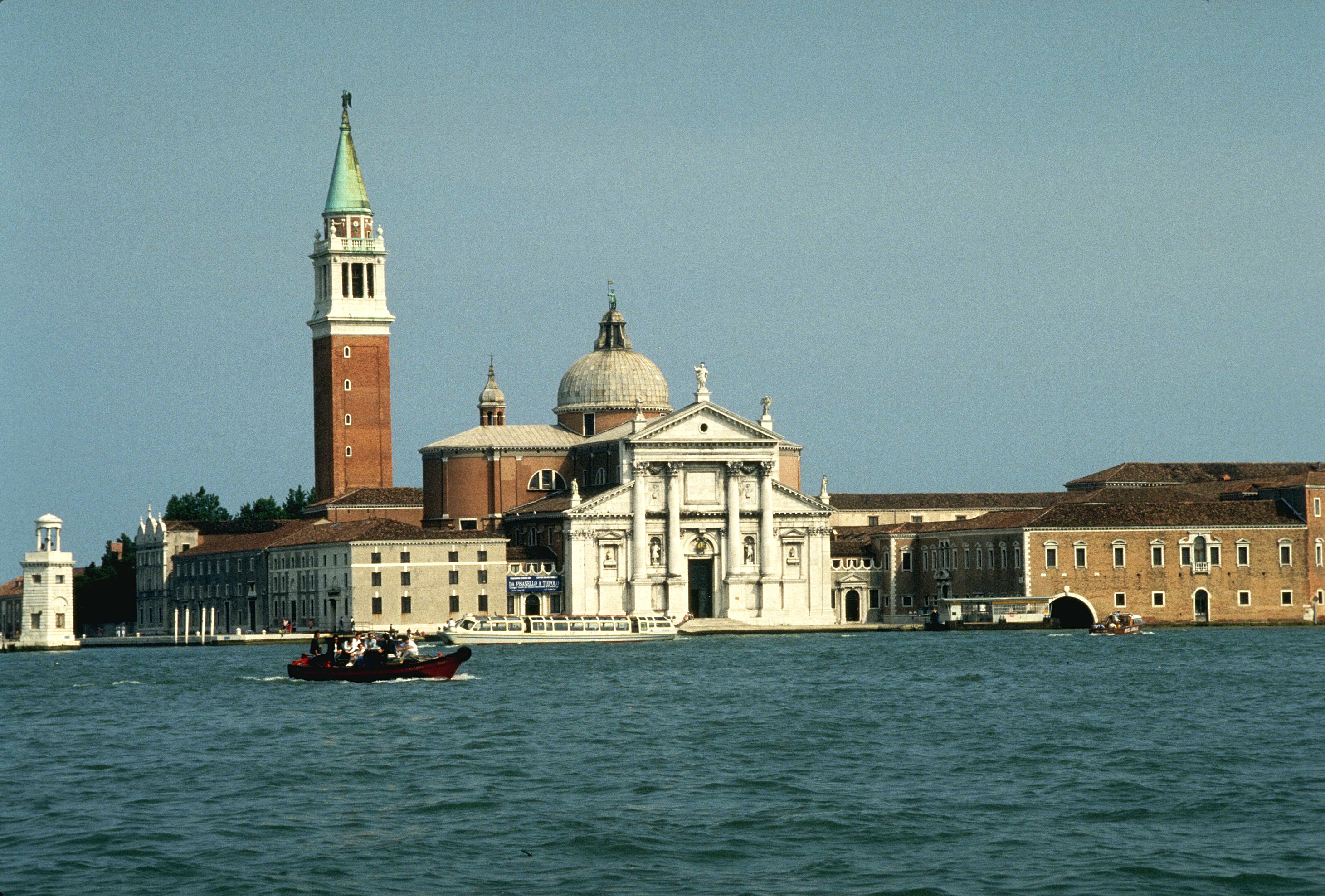 Sea Church venice Italy HD Wallpaper