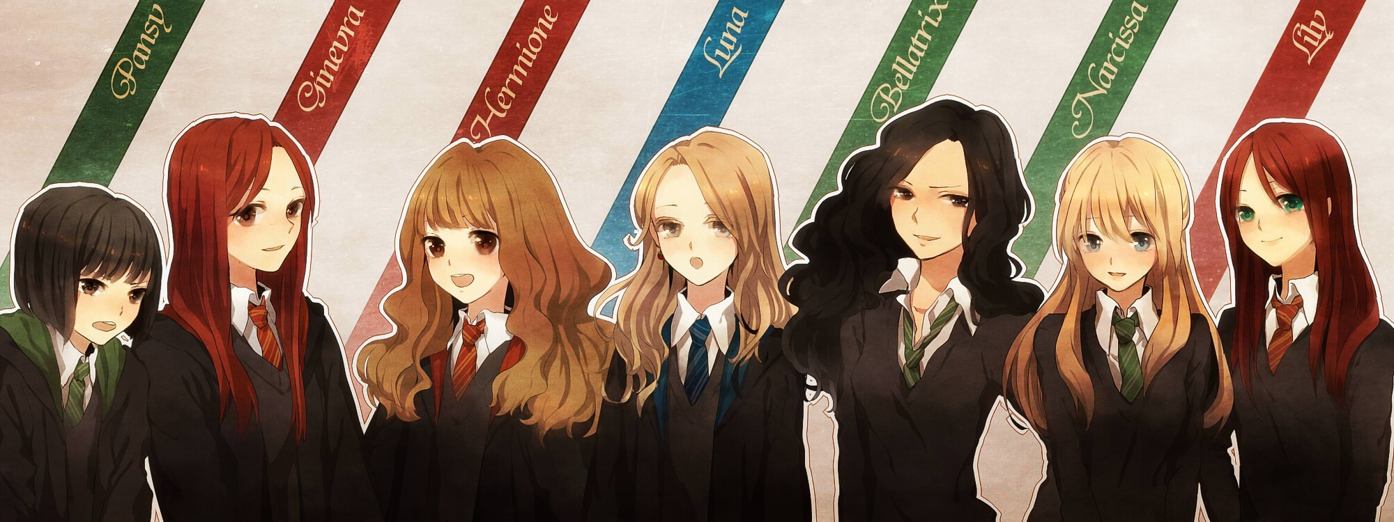 seifuku harry potter lily evans hermione granger HD Wallpaper