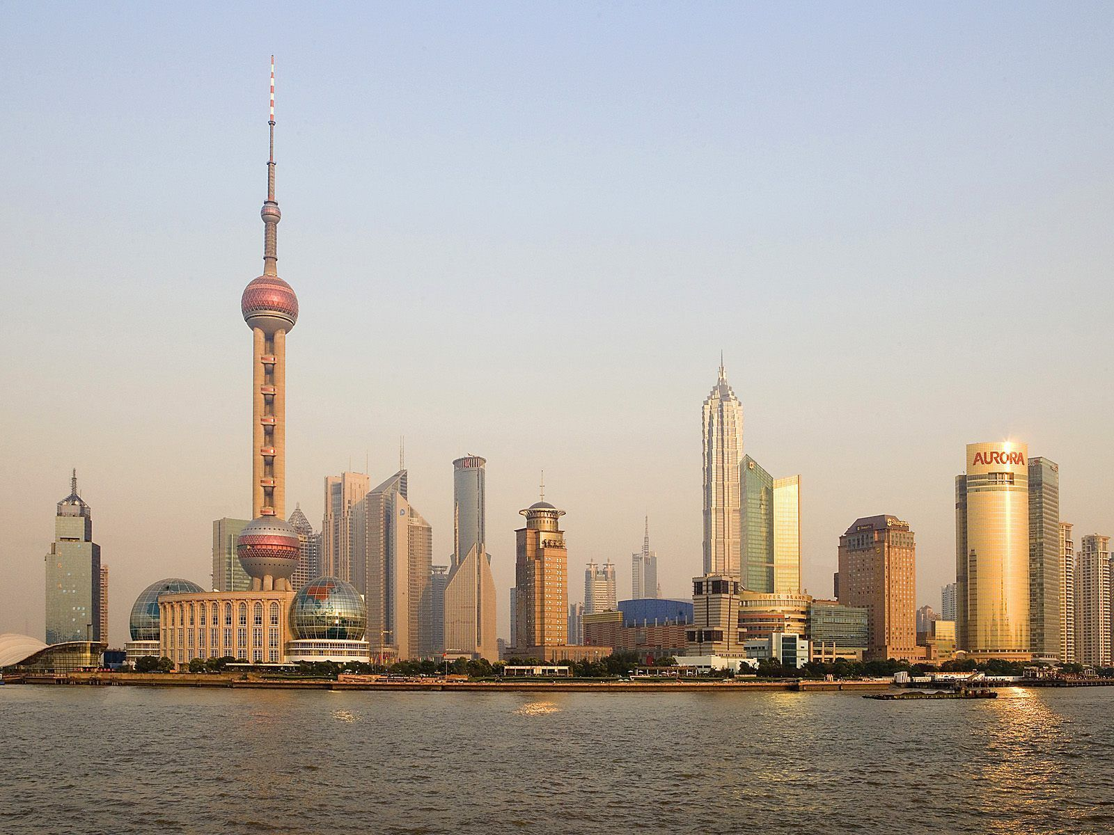 Shanghai China World HD Wallpaper