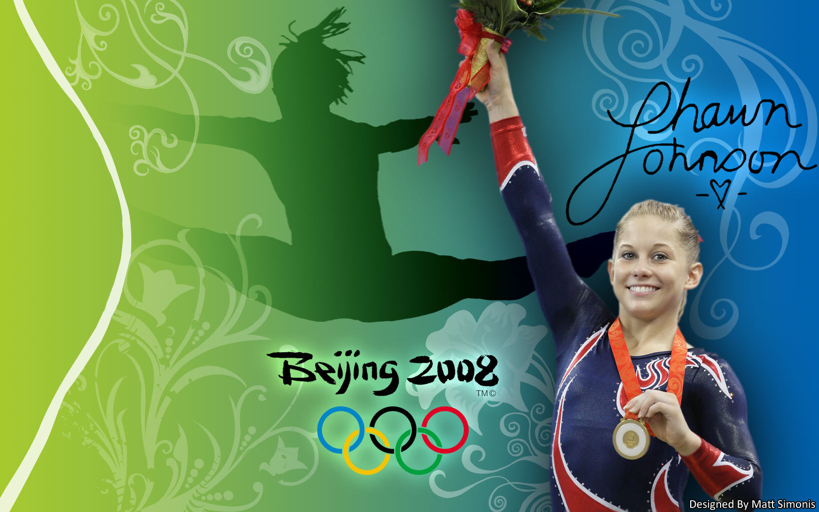 shawn johnson American artistic HD Wallpaper