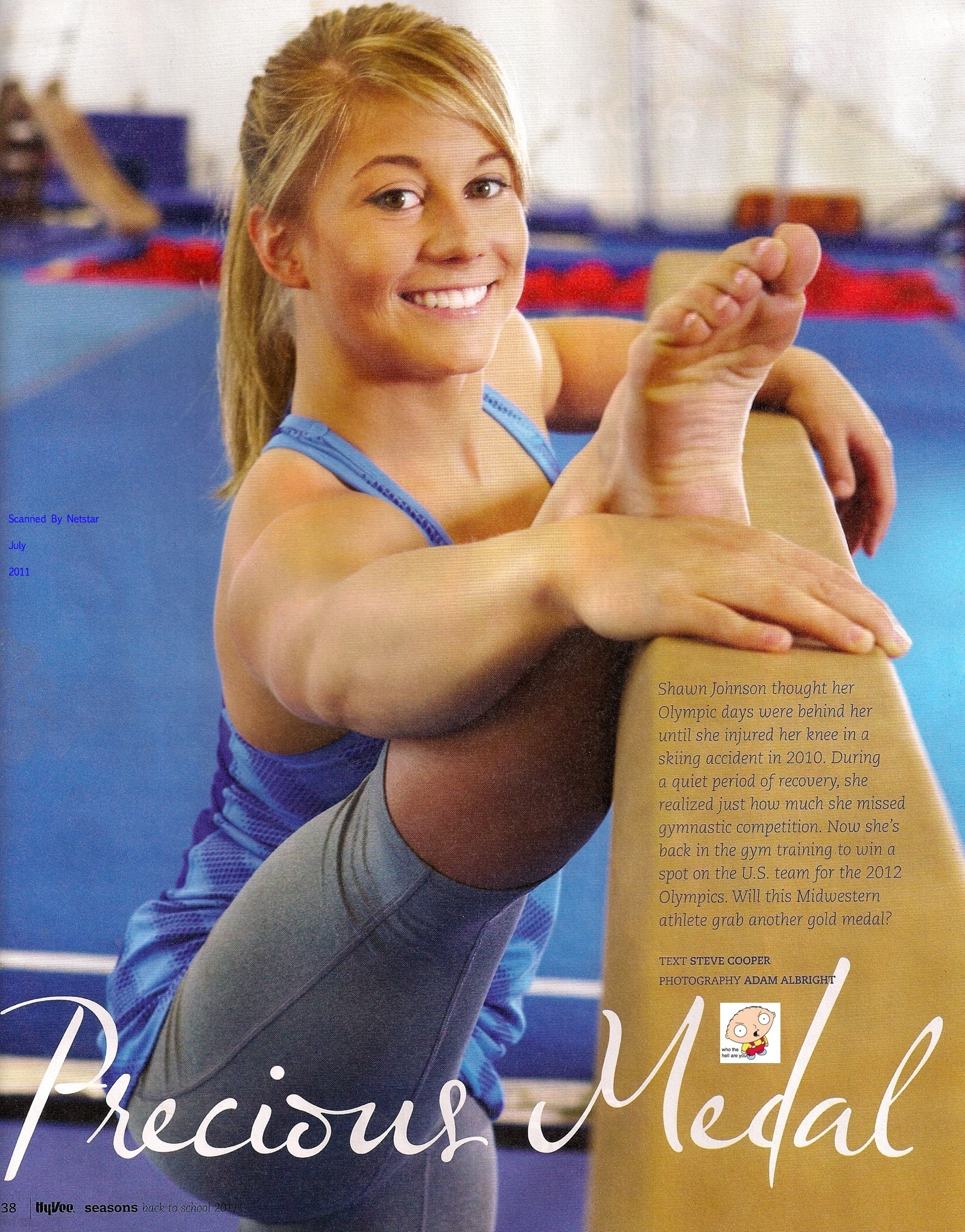 Shawn Johnson gymnastics HD Wallpaper