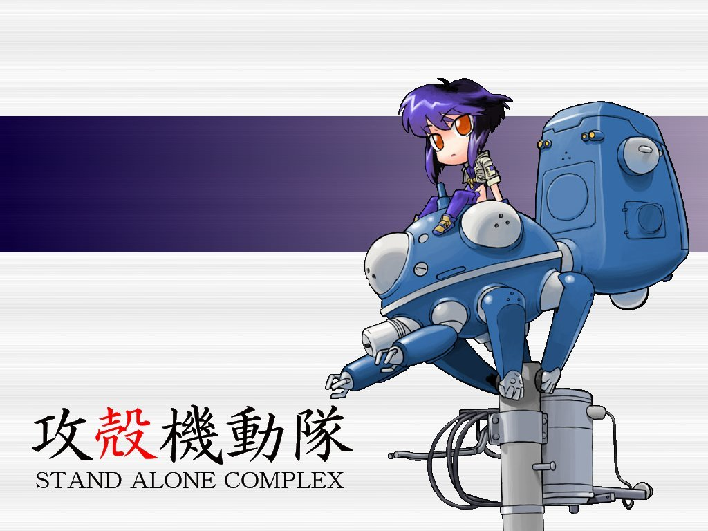 shell Anime motoko kusanagi HD Wallpaper