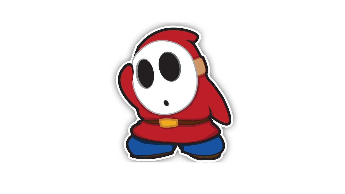 Shy Guy game HD Wallpaper