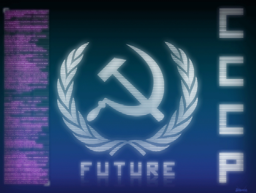 sickle communism futuristic Future HD Wallpaper