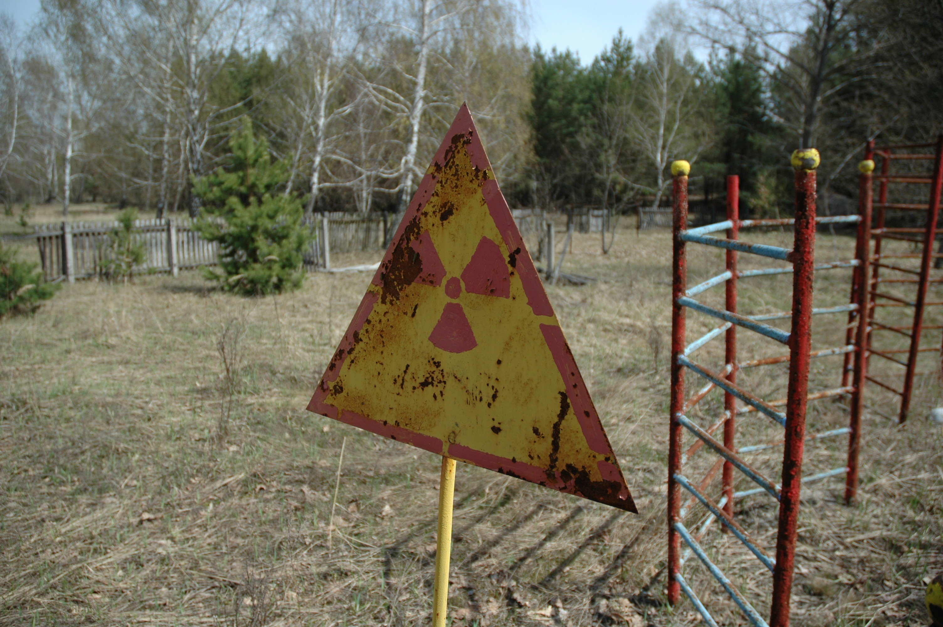 signs Chernobyl radiation HD Wallpaper