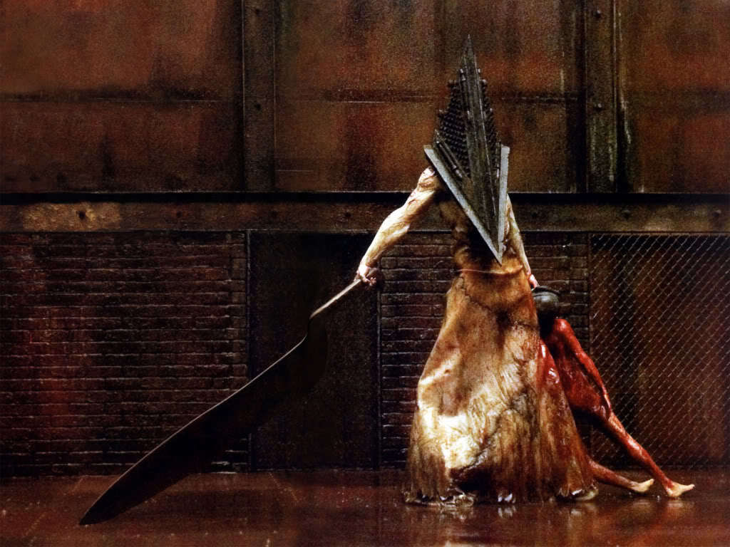 silent hill pyramid head HD Wallpaper
