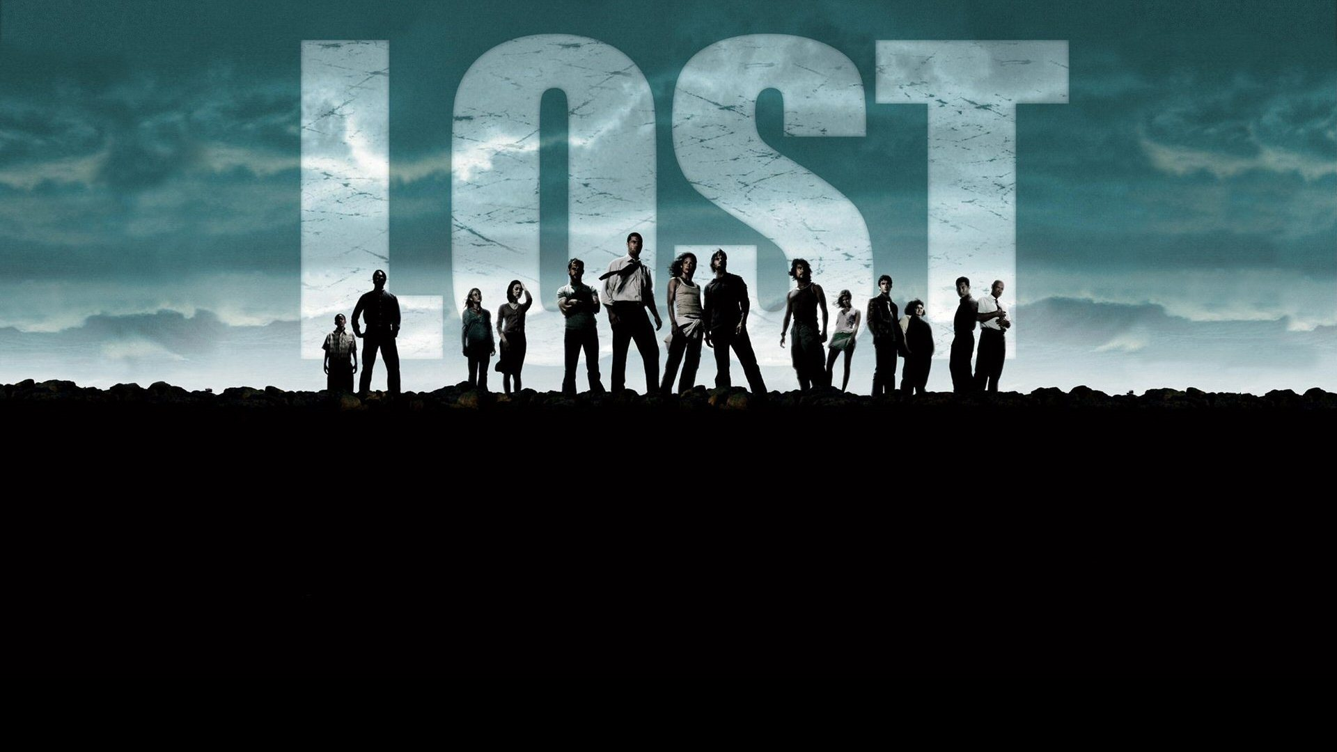silhouettes Lost (TV Series) HD Wallpaper